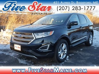 2016 Shadow Black Ford Edge SEL SUV Automatic AWD