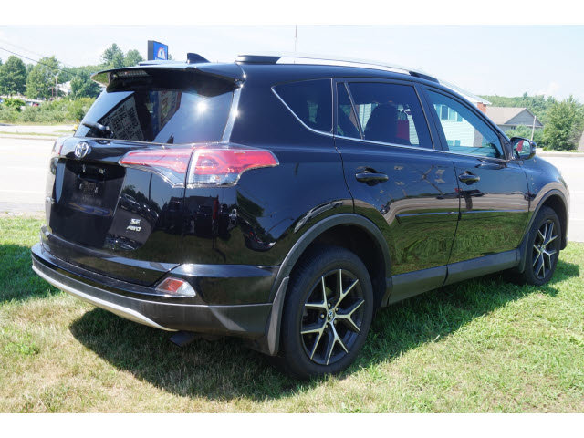 2016 Black Toyota RAV4 SE 4 Door SUV AWD Automatic