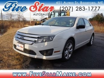 2012 Ford Fusion SE FWD Sedan 4 Door