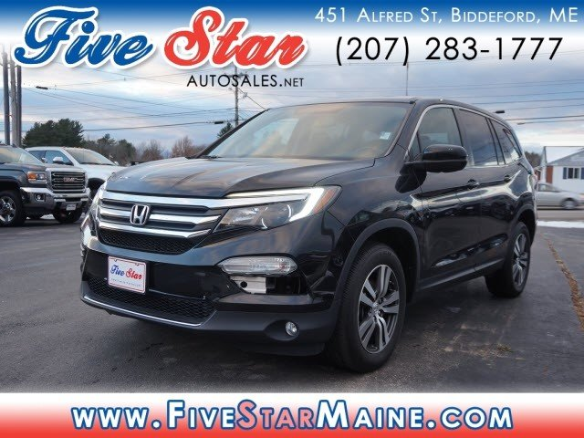 used 2016 honda pilot ex l awd suv for sale in saco me 34251. Black Bedroom Furniture Sets. Home Design Ideas