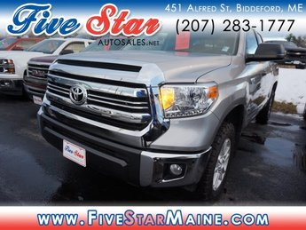 2016 Magnetic Gray Metallic Toyota Tundra SR5 Automatic Truck 4 Door