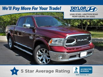 2016 Ram 1500 Longhorn Limited 4 Door 4X4 Automatic Truck V6, 3.0L Engine