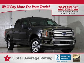 2020 Stone Gray Metallic Ford F-150 XLT Truck 4X4 4 Door 3.5 liter V6 Cylinder Engine Automatic