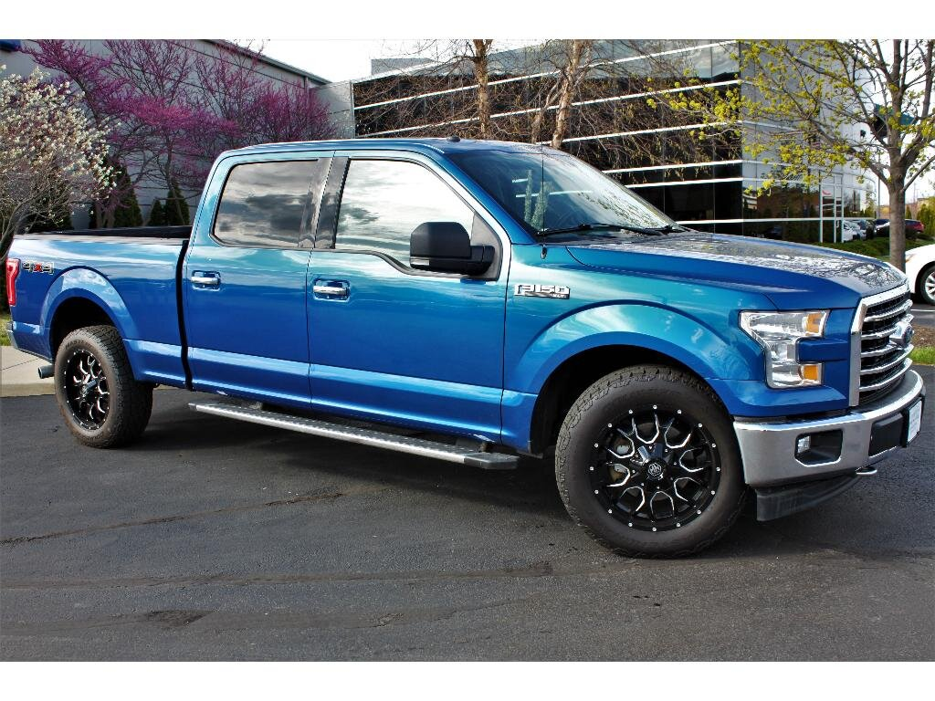 2017 Ford F-150 XLT Automatic 4 Door 5.0 liter 8 Cylinder Engine 4X4
