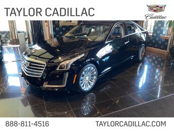 2019 Black Raven Cadillac CTS Luxury AWD Sedan AWD Automatic 2.0 liter 4 Cylinder Engine 4 Door