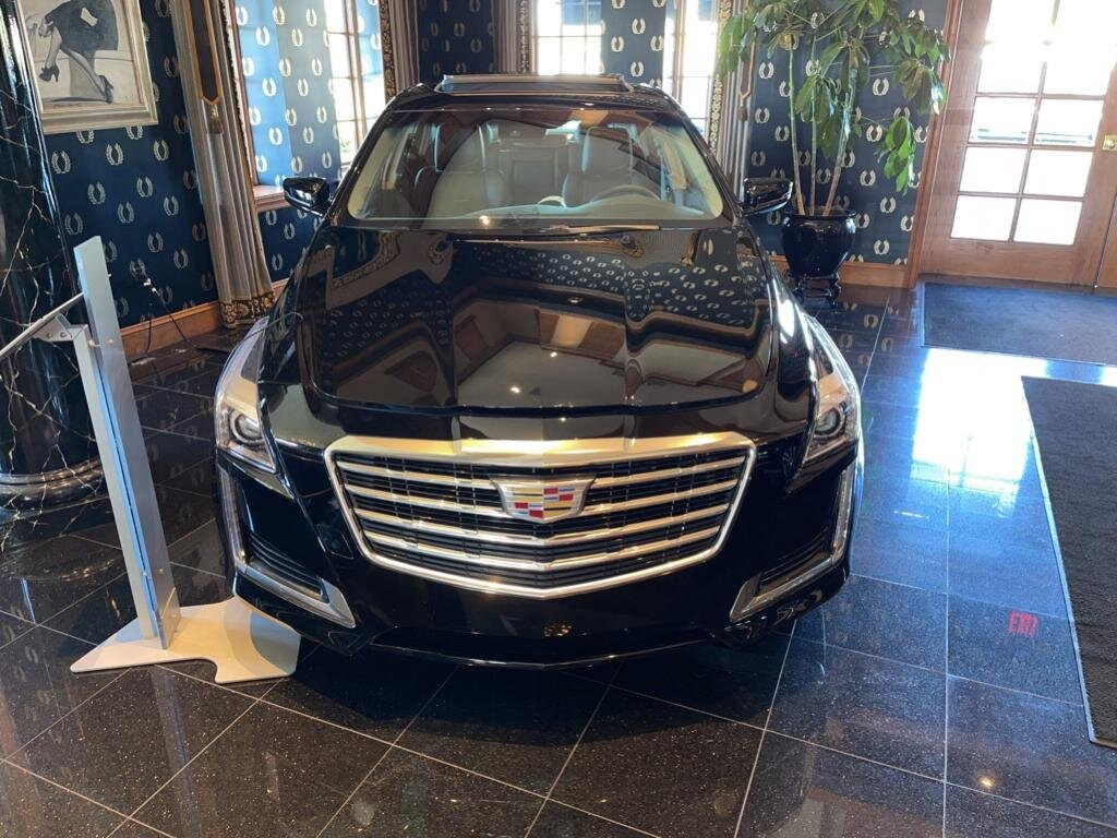 2019 Black Raven Cadillac CTS Luxury AWD AWD 2.0 liter 4 Cylinder Engine Automatic Sedan
