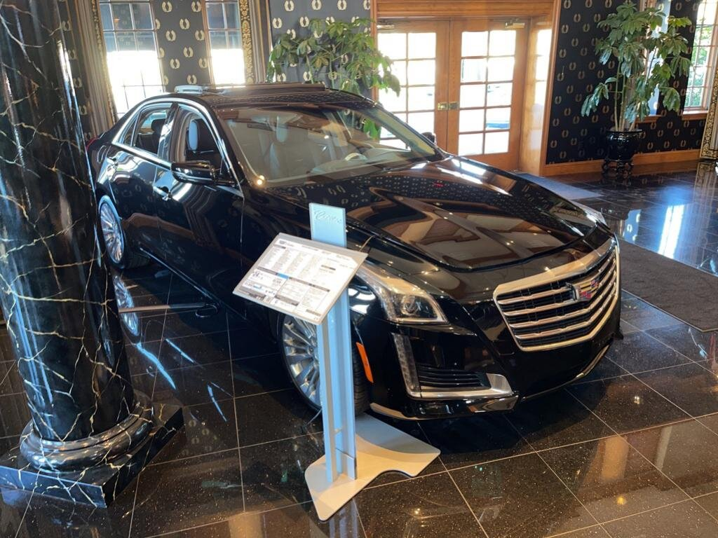 2019 Black Raven Cadillac CTS Luxury AWD 2.0 liter 4 Cylinder Engine 4 Door Automatic