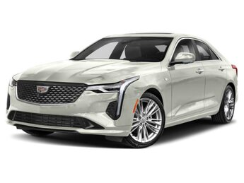 2021 Crystal White Tricoat Cadillac CT4 Premium Luxury RWD 2.7 liter 4 Cylinder Engine Automatic