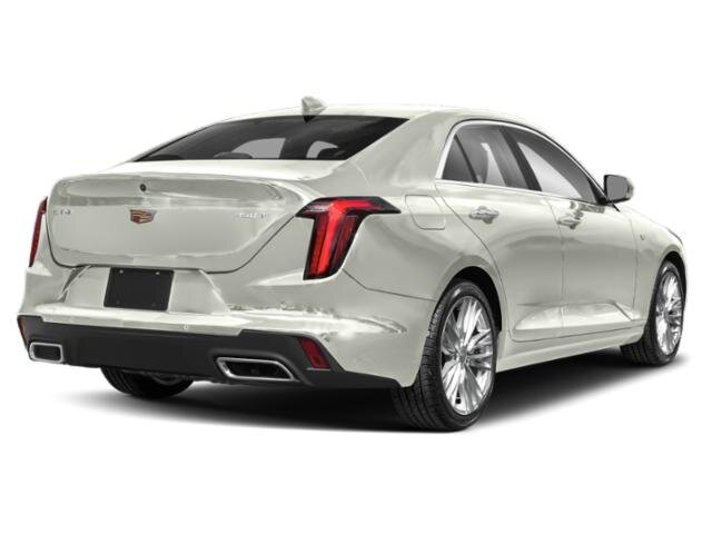 2021 Crystal White Tricoat Cadillac CT4 Premium Luxury Sedan Automatic 2.7 liter 4 Cylinder Engine