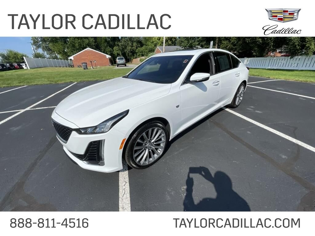 2020 Cadillac CT5 Premium Luxury 4 Door 2.0 liter 4 Cylinder Engine RWD