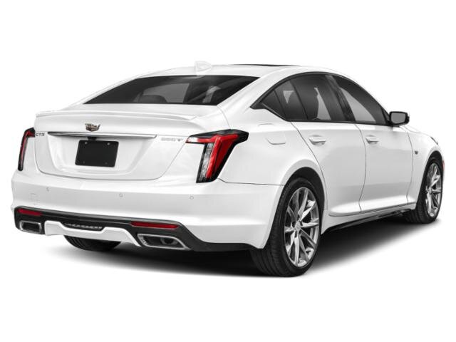2020 Summit White Cadillac CT5 Premium Luxury Automatic 2.0 liter 4 Cylinder Engine RWD Sedan 4 Door
