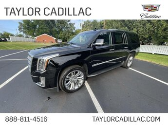 2019 Black Raven Cadillac Escalade ESV Luxury 6.2 liter 8 Cylinder Engine 4 Door Automatic SUV 4X4