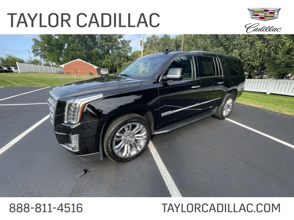 2019 Black Raven Cadillac Escalade ESV Luxury 4 Door 6.2 liter 8 Cylinder Engine 4X4