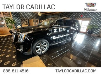2019 Black Raven Cadillac Escalade ESV Luxury SUV 4 Door Automatic
