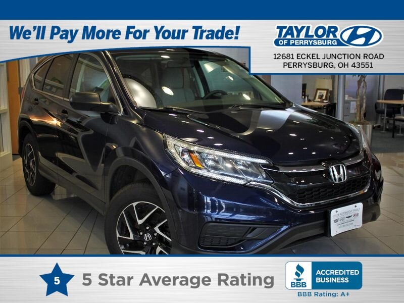 2016 Honda CR-V SE 4 Door 2.4 liter 4 Cylinder Engine AWD
