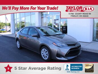 2018 Toyota Corolla LE Automatic Car 1.8 liter 4 Cylinder Engine 4 Door