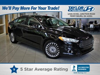 2016 Shadow Black Ford Fusion Titanium AWD Automatic Car 4 Door 2.0 liter 4 Cylinder Engine
