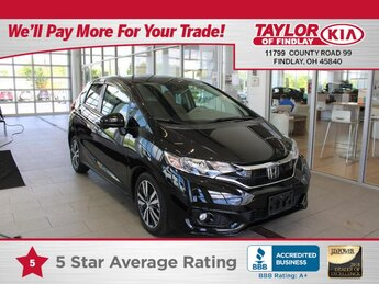 2019 Honda Fit EX 1.5 liter 4 Cylinder Engine Hatchback FWD 4 Door