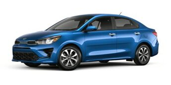 2021 Kia Rio S Car 1.6 liter 4 Cylinder Engine Automatic FWD 4 Door