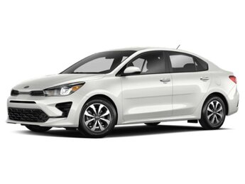 2021 Kia Rio LX 1.6 liter 4 Cylinder Engine 4 Door FWD Car Automatic
