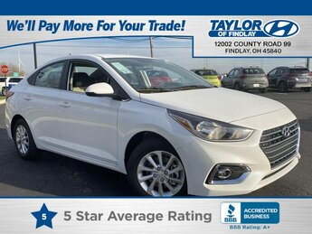 2021 Hyundai Accent SEL Automatic 4 Door FWD 1.6 liter 4 Cylinder Engine