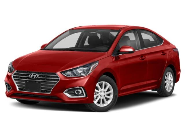 2021 Pomegranate Red Hyundai Accent SEL Car 4 Door 1.6 liter 4 Cylinder Engine