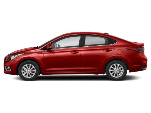 2021 Pomegranate Red Hyundai Accent SEL Automatic 4 Door Car 1.6 liter 4 Cylinder Engine FWD