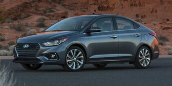 2021 Hyundai Accent Limited 4 Door Car 1.6 liter 4 Cylinder Engine