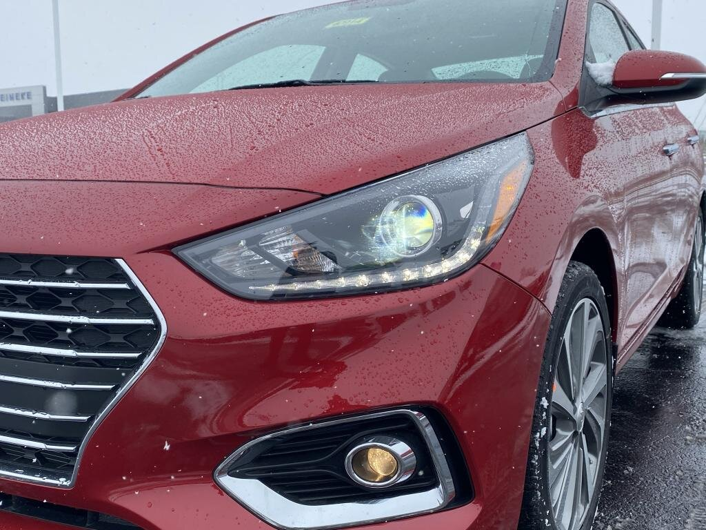 2021 Hyundai Accent Limited Automatic FWD 1.6 liter 4 Cylinder Engine