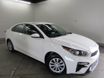 2021 Clear White Kia Forte FE Car Automatic 2.0 liter 4 Cylinder Engine 4 Door