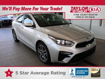 2019 Silky Silver Kia Forte S Car Automatic 4 Door FWD 2.0 liter 4 Cylinder Engine