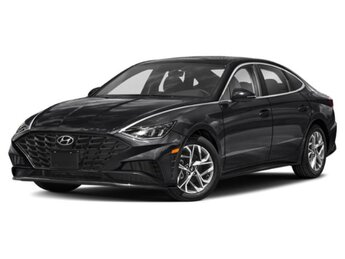 2021 Phantom Black Hyundai Sonata SEL FWD 4 Door 2.5 liter 4 Cylinder Engine Car
