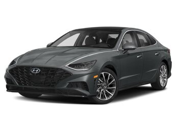 2021 Portofino Gray Hyundai Sonata Limited 1.6 liter 4 Cylinder Engine Car Automatic FWD 4 Door