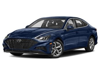 2021 Stormy Sea Hyundai Sonata SEL Plus Automatic Car FWD 4 Door 1.6 liter 4 Cylinder Engine