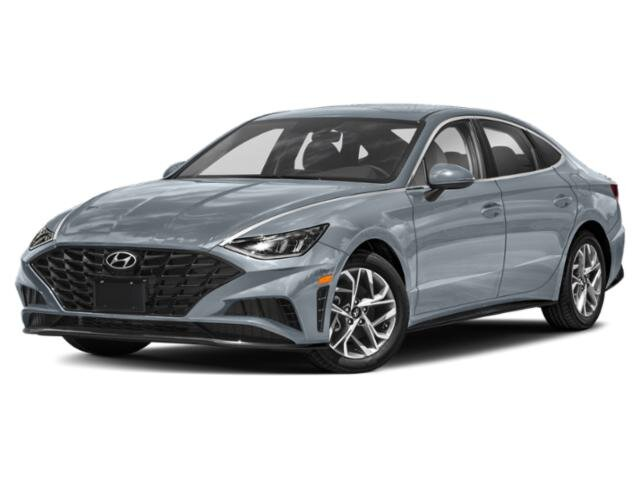 2021 Shimmering Silver Pearl Hyundai Sonata SEL Plus 1.6 liter 4 Cylinder Engine 4 Door Car Automatic FWD