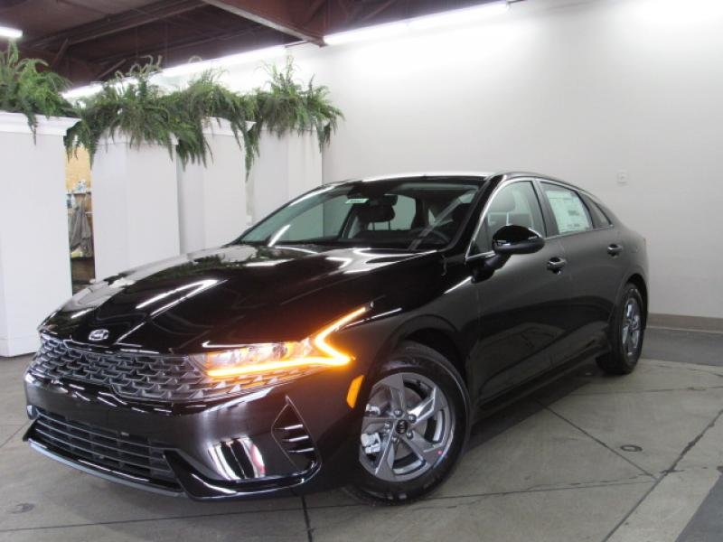 2021 Ebony Black Kia K5 LXS Automatic 4 Door Sedan