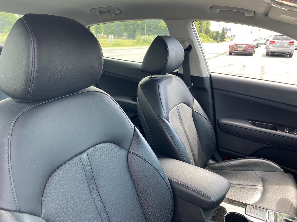 2018 Titanium Silver Kia Optima EX 4 Door FWD Sedan