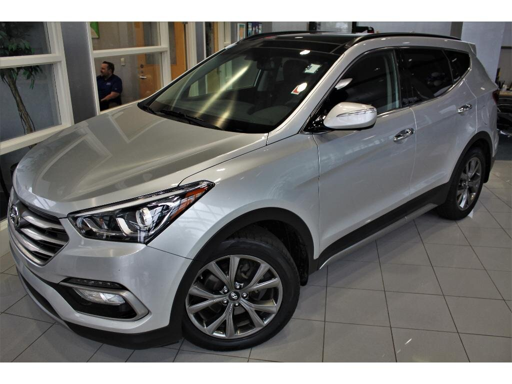 2017 Hyundai Santa Fe Sport 2.0T Ultimate SUV Automatic 2.0 liter 4 Cylinder Engine AWD 4 Door