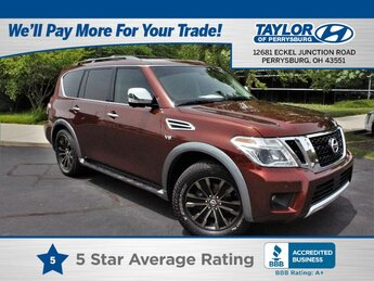 2017 Forged Copper Nissan Armada Platinum 4X4 SUV Automatic