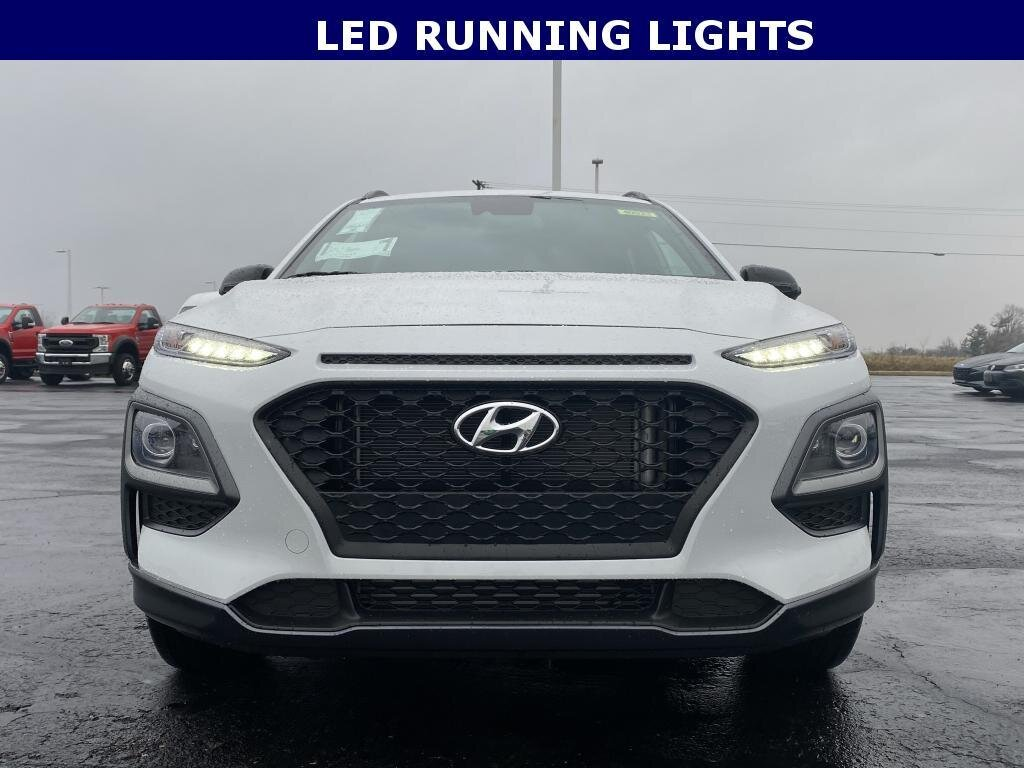 2021 Hyundai Kona NIGHT 1.6 liter 4 Cylinder Engine SUV 4 Door Automatic AWD