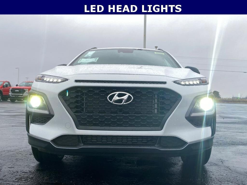 2021 Hyundai Kona NIGHT 4 Door SUV AWD 1.6 liter 4 Cylinder Engine