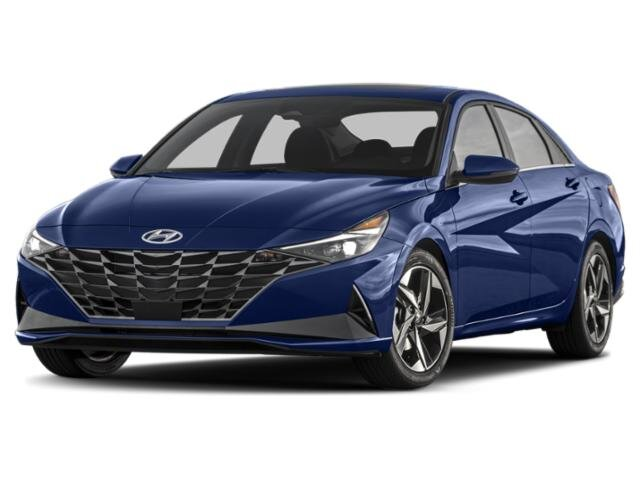 2021 Intense Blue Hyundai Elantra SEL 2.0 liter 4 Cylinder Engine 4 Door FWD Automatic Car
