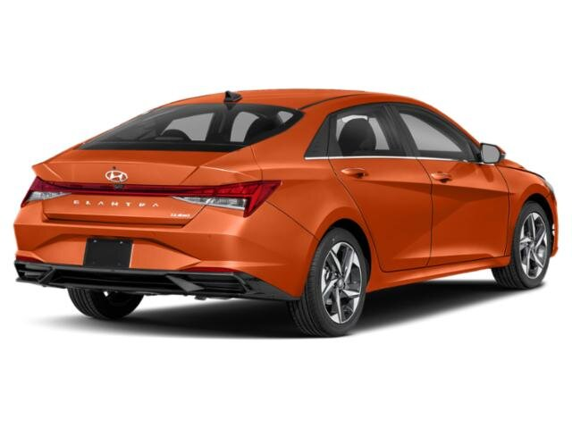 2021 Lava Orange Hyundai Elantra Limited Automatic Car 2.0 liter 4 Cylinder Engine