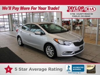 2015 Silky Silver Kia Forte EX Automatic 2.0 liter 4 Cylinder Engine FWD 4 Door