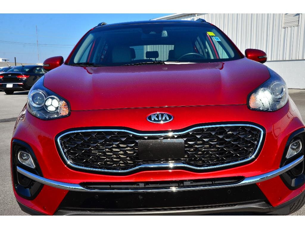 2021 Hyper Red Kia Sportage EX Automatic 2.4 liter 4 Cylinder Engine SUV 4 Door AWD