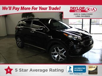 2019 Kia Sportage SX Turbo SUV L4, 2.0L Engine 4 Door AWD Automatic