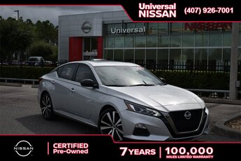 2019 Nissan Altima 2.5 SR FWD 4 Door 2.5L 4-Cylinder Engine Automatic (CVT) Sedan