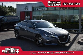 2019 Gun Metallic Nissan Altima 2.5 SL 2.5L 4-Cylinder Engine FWD Sedan