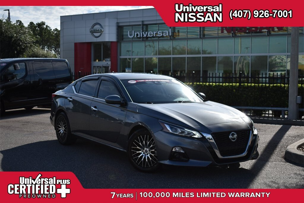 2019 Gun Metallic Nissan Altima 2.5 SL Automatic (CVT) FWD 4 Door Sedan