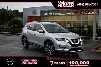 2019 Nissan Rogue SL SUV Automatic (CVT) FWD 2.5L I4 DOHC 16V Engine 4 Door